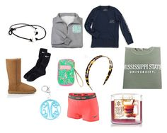 """""""christmas list 2014"""" by prep-lover1 ❤ liked on Polyvore featuring UGG Australia, NIKE, J.Crew, Lilly Pulitzer and Vineyard Vines"""
