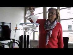 Aus Hahnenwasser wird Quellwasser dank Schauberger-Trichter - YouTube