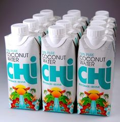 Chi Coconut Water from Chi Drinks is now available to UK retailers preceding a full consumer launch this year. Potential Beverage Innovation Awards winner at Drinktec?