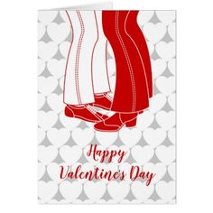 Gay couple kissing Valentine's Day Card - heart gifts love hearts special diy
