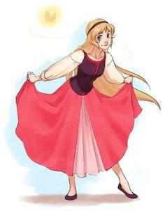 Princess Eilonwy from Disneys Black Cauldron