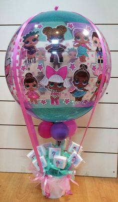7th Birthday Party Ideas, Birthday Party Decorations, Birthday Party Favors, 5th Birthday, Funny Birthday Cakes, Doll Party, Little Girl Birthday, Lol Dolls, Balloon Decorations