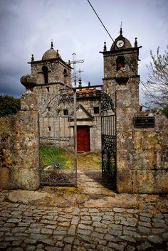 Church in Montesinho Natural Park, Portugal.