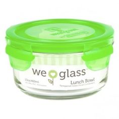 Wean Green - Lunch Bowls 13oz (400ml) - Peas Eco Kids, Glass Containers, Bowls, Lunch, Canning, Green, Serving Bowls, Lunches, Home Canning