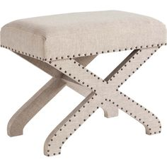 upholstered accent stool