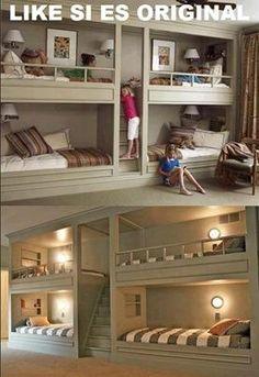 Quiero una habitación así!