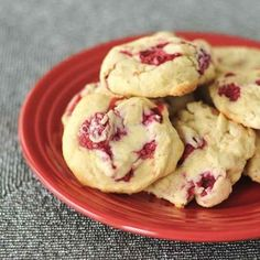 Gluten-Free Raspberry Lemon Cheesecake Cookies