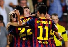 Pictures: FC Barcelona 4-0 Ajax Amsterdam
