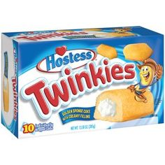 Hostess Twinkies Cakes, 10 count, 13.58 oz