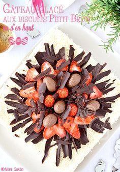 Gâteau glacé aux biscuits Petit Brun - Pâques #4 - Par Alter Gusto