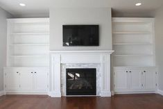 4 Vivacious ideas: Livingroom Remodel Beautiful living room remodel on a budget how to make.Living Room Remodel On A Budget How To Make small living room remodel interiors.Living Room Remodel Ideas Before After. Bookshelves Around Fireplace, Built In Around Fireplace, Build A Fireplace, Fireplace Built Ins, Fireplace Remodel, Living Room With Fireplace, Fireplace Surrounds, Fireplace Ideas, Fireplace Wall