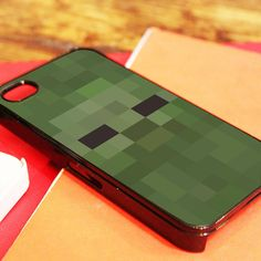 Alec's Garage - Zombie Face Minecraft iPhone 4/4S, iPhone 5/5S/5C, and iPhone 6 Cases, $19.00 (http://www.alecsgrg.com/zombie-face-minecraft-iphone-4-4s-iphone-5-5s-5c-and-iphone-6-cases/)
