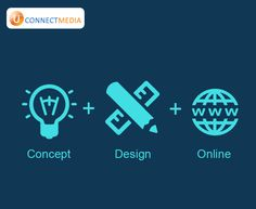 Get your website designed by us and attract more people..  #Website_Designing  #U_Connect_Media