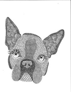 boston terrier dog coloring page for kids animal coloring pages printables free wuppsycom animals coloring pages pinterest coloring coloring - Boston Terrier Coloring Page