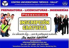 PREPARATORIA, LICENCIATURA Y MAESTRÍA  #PREPARATORIA, #, #LICENCIATURA, #Y, #MAESTRÍA