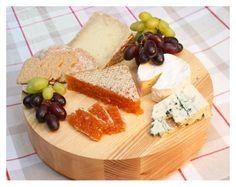 Green Bay fresh raw Manuka honeycomb as a part of a delicious cheese board