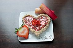 As I was strolling through the grocery store, I came across some beautiful rhubarb, YUM! I never worked with rhubarb before and WOW, what a delicious surprise! My husband and I ate this raw pie u...