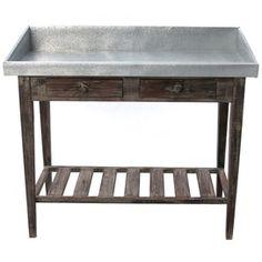 Potting Table.