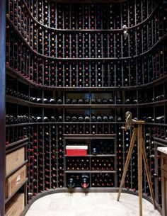 Round Room | Basement Remodel | Wine Cellar | House Ideas | Home Bar | Interior Design
