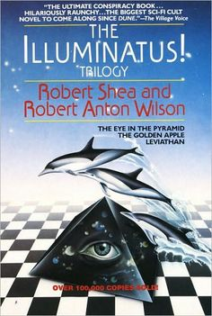 The Illuminatus! Trilogy - Robert Shea and Robert Anton Wilson    I thought it was good as a teenager, but it's definitely at least interesting :)