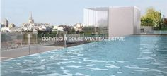 luxury loft in milan-swimming pool