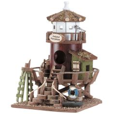 Lighthouse Station Bird House – Baubles-N-Bling