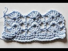 "How to Crochet * Super Easy Shell Stitch ""Rows of Shells"" tute, thanks so xox"