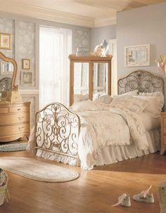 Vintage Room Ideas for Teenage Girls 2013 – vintage bedroom furniture Home Decor Bedroom, Vintage Room, Vintage Bed, Bedroom Interior, Vintage Bedroom Decor, Vintage Bedroom Furniture, Bedroom Styles, Bedroom Ideas Pinterest, Vintage Bedroom Styles