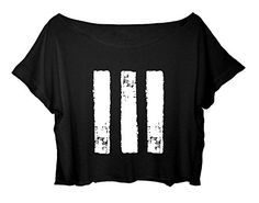 Paramore Women's Crop Top Punk Rock T-shirt Free Ship