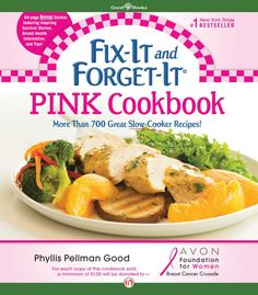 "Love crock pot cooking? Want to help those fighting and surviving breast cancer? Pick up a copy of ""Pink"" today!"