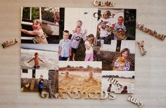 Add any photos as you like to the custom jigsaw puzzle.