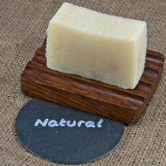 Natural (Unscented) Soap. This simple, creamy bar of soap has no added essential oils. The gentle, moisturising qualities of the olive and coconut oil combine with the vitamin and mineral packed sunflower oil and the softening and soothing sweet almond oil to produce a very mild everyday cleanser. This bar has added jojoba oil that nourishes the skin and prevents dryness. An almost white bar, great for those with sensitive skin or who prefer unscented skin care products.