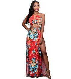 Floral Bohemian Hawaii Dress