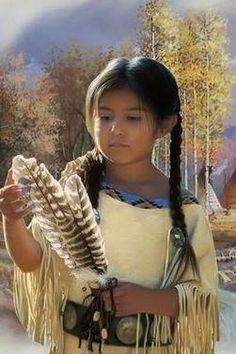 indiens d amerique , loups , aigles