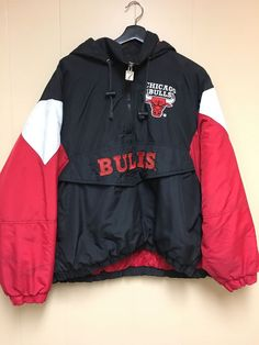 Vintage 90's Chicago Bulls Starter Jacket/80/ Stadium Baseball jacket small