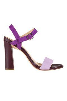 The Open-Toe.  Perfect purple.  Cole Haan Minetta Sandals, $248; amazon.com
