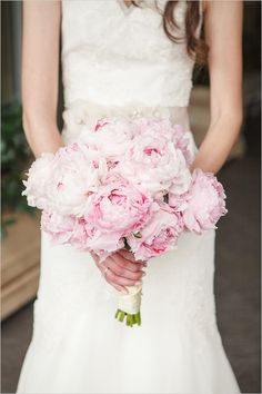 bouquet de mariage rose / bouquet de mariée #weddingbouquet #bridalbouquet
