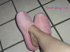 Mom of 3 Boys: Nature's Sleep Slippers -Review/Giveaway-