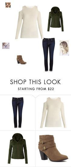 """""""Meeting JJ"""" by maryvarleyrox ❤ liked on Polyvore featuring AG Adriano Goldschmied, Velvet by Graham & Spencer, LE3NO and Morphe"""