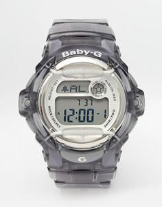 Reloj digital gris Baby G de Casio