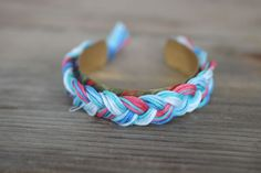 DIY: Aurelie Bidermann Braided Cuff Bracelet - The Stripe