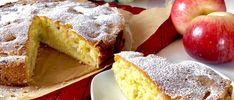 Puszyste, maślane ciasto z jabłkami - Blog z apetytem