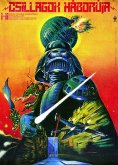 #FilmPosterOfTheDay. Hungarian Star Wars poster (1977)