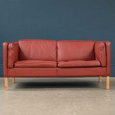 Danish 2 Seat Sofa