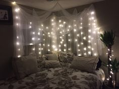 My Pinterest inspired headboard!!