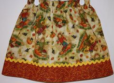 Harvest Time Skirt  Size 2  7    Size 5 Ready to by bubblenbee