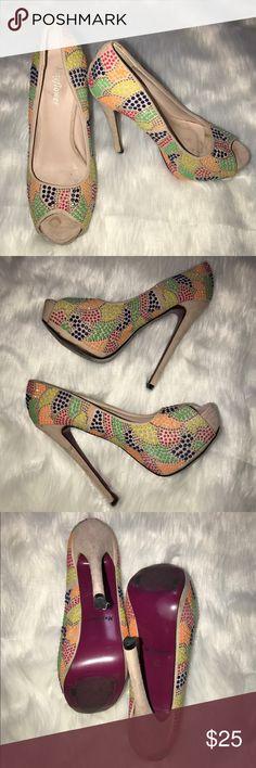Mayflower Multicolor Heels 👠Size 37 Mayflower Multicolor Heels 👠Size 37 Mayfield Shoes Heels