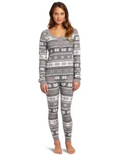 Tommy Hilfiger Women s Thermal Pajama Set « Clothing Impulse - TO KEEP YOU  WARM AT NIGHT 2278557cb