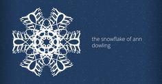the snowflake of Ann Dowling