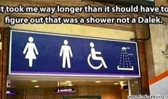 Lol it does look like a Dalek!! Doctor who funny!